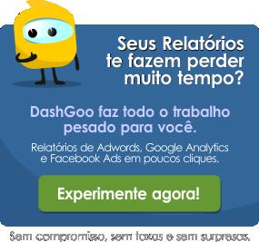 Relatórios de Adwords, Google Analytics, Facebook em poucos cliques. Experimente agora